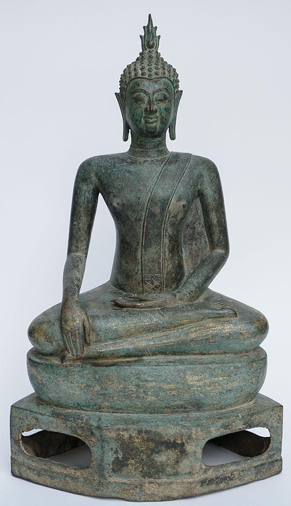 15th Century Thai Bronze Buddha